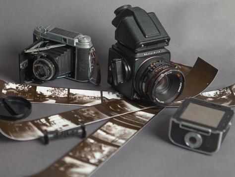 Papel fotográfico positivo ISO 120 em rolos de médio formato - dxfoto 02