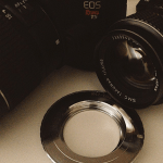 No #instagram unindo digital com analógico antigo #m42 #eos #takumar