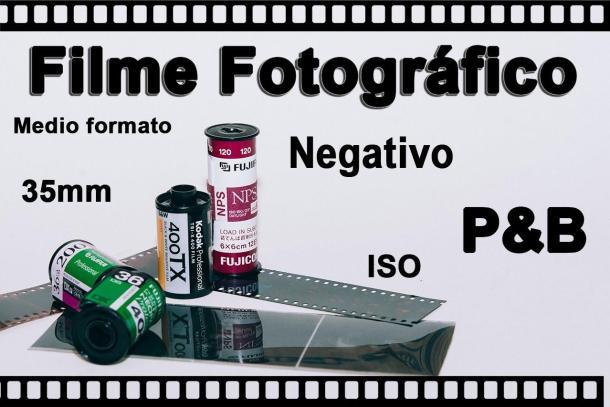Filme Fotográfico câmera velha - 05