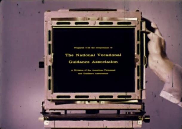 Cameras and Careers, filme de instrução antigo da Kodak - DXFoto