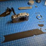 Restaurando uma velha Leica III de 85 anos de idade!