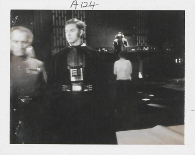 Polaroids originais de Star Wars do set dos filmes da trilogia