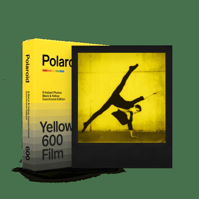 Polaroid Duochrome 600, instantâneos amarelo e preto
