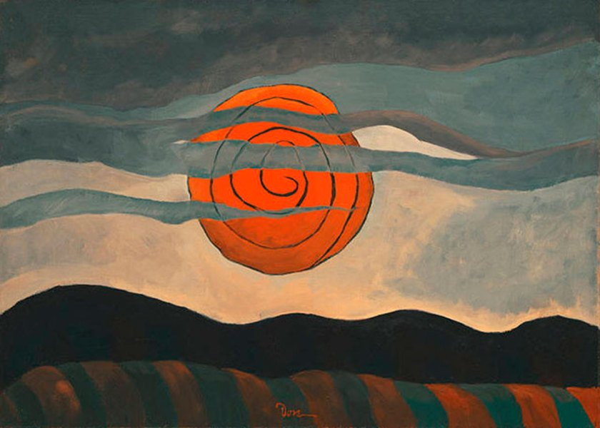 Arthur G. Dove: Red Sun, 1935, Phillips Collection, Washington, D.C.