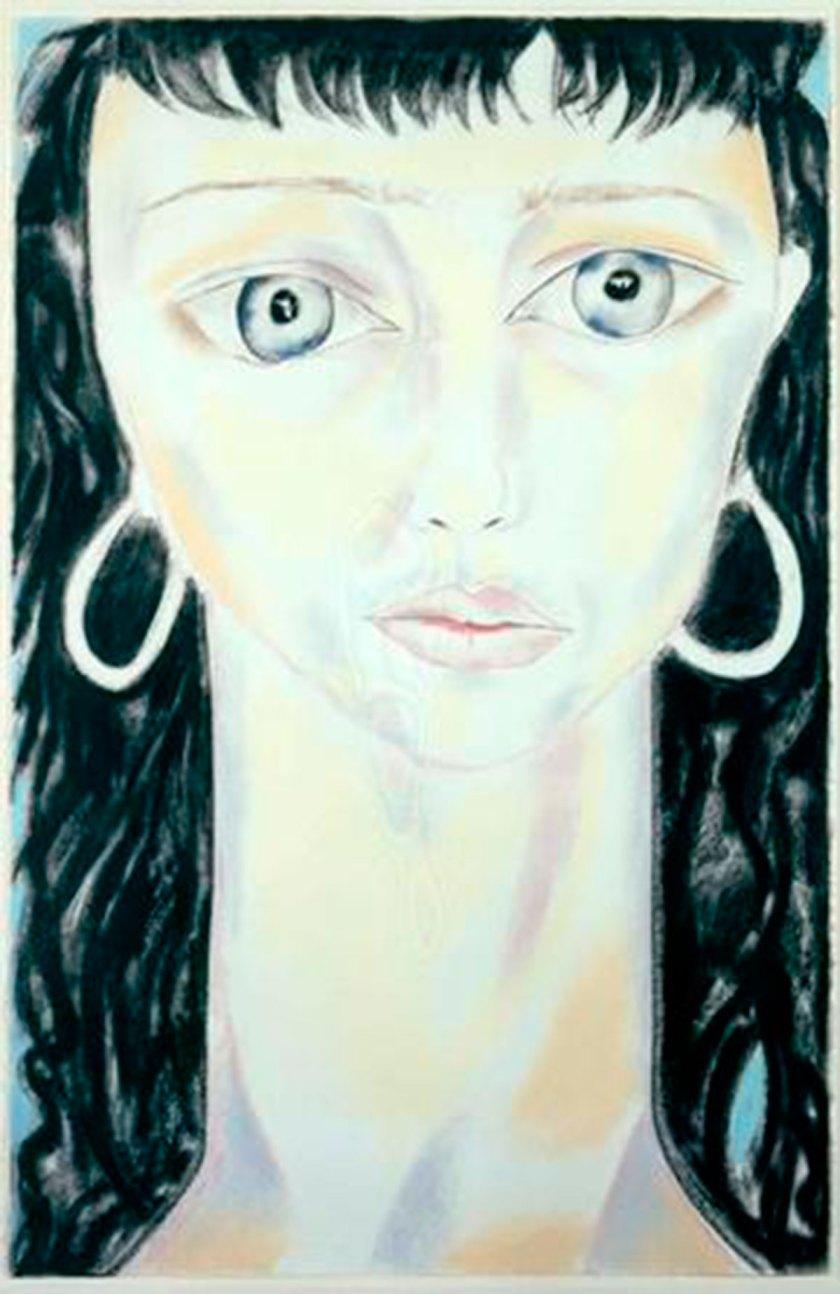 New York Muses V, 1995. Pastel sobre papel. 102 x 71 cm. Imagen cortesía: Galería Javier Lopez y Fer Frances
