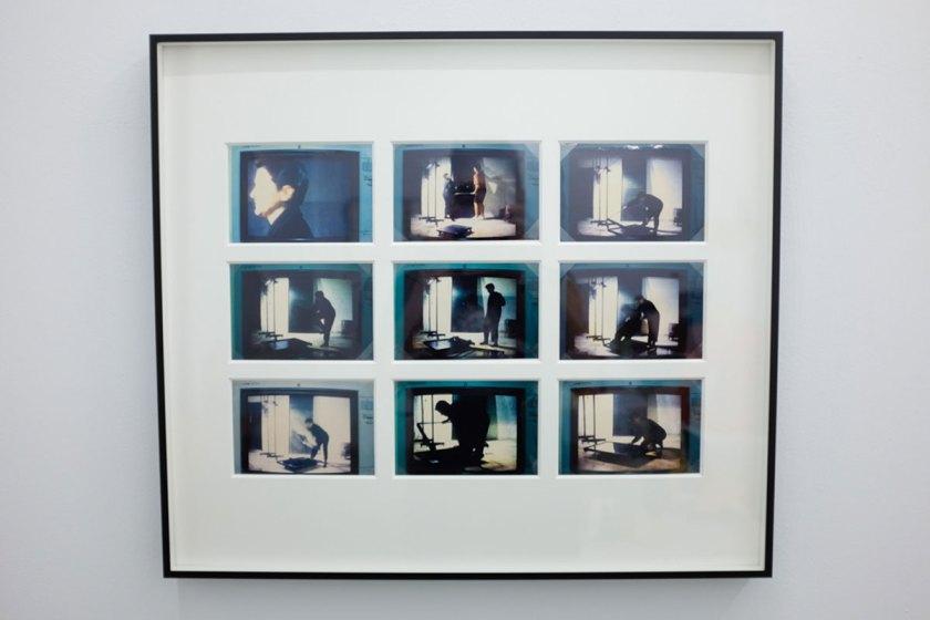 Ángeles Marco, Valencia 1947-2008 PRESENTE INSTANTE # 3, 19919 Fotografias a color / 55 x 63 x 5 cm. Cortesía Espaivisor