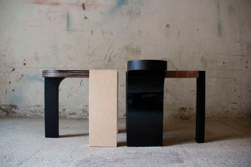 Charles Kalpakian, Side Tables, courtesy of Joy Mardini Gallery