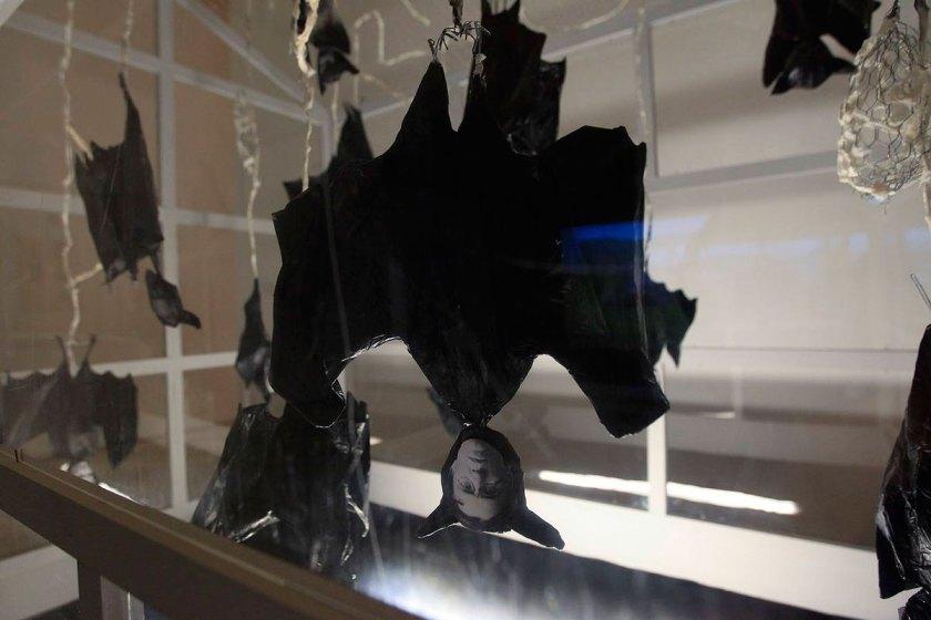 Vista de la instalación 'Arca de los fugitivos'. (detalle) © Raúl Doblado