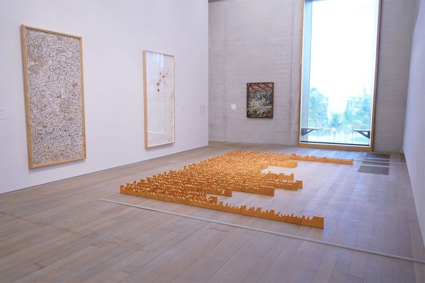 Installation view: On the Horizon: Contemporary Cuban Art from the Jorge M. Pérez Collection, Pérez Art Museum Miami, 2017. Photo by PAMM