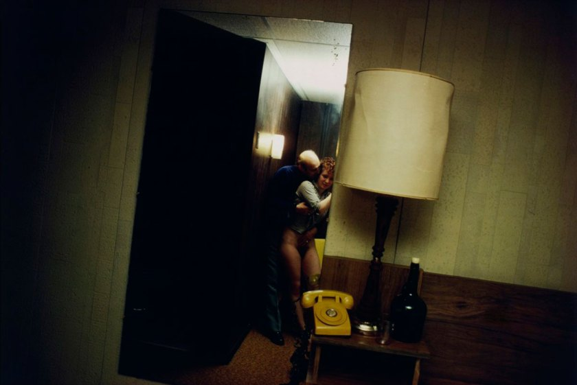Nan and Dickie in the York Motel, New Jersey, 1980 © Nan Goldin