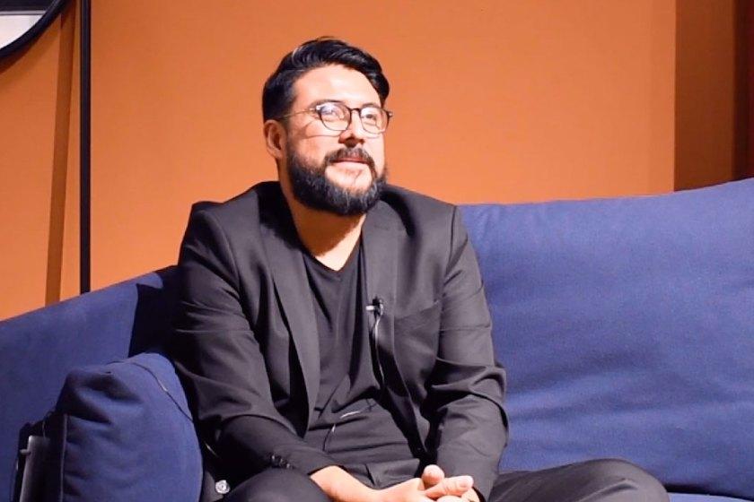 Omar Uribe de Omelette Ed responde a nuestro cuestionario durante la Feria Hábitat Valencia el pasado mes de septiembre.