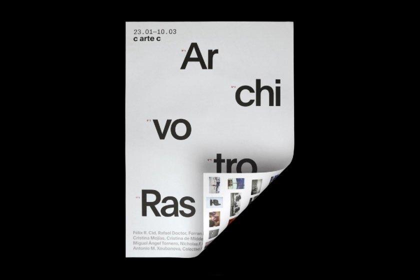 Identidad gráfica para un archivo fotográfico de más de 3.000 negativos y diapositivas adquiridos en el rastro de Madrid, a partir del cual se construye un proyecto expositivo de arte contemporáneo.