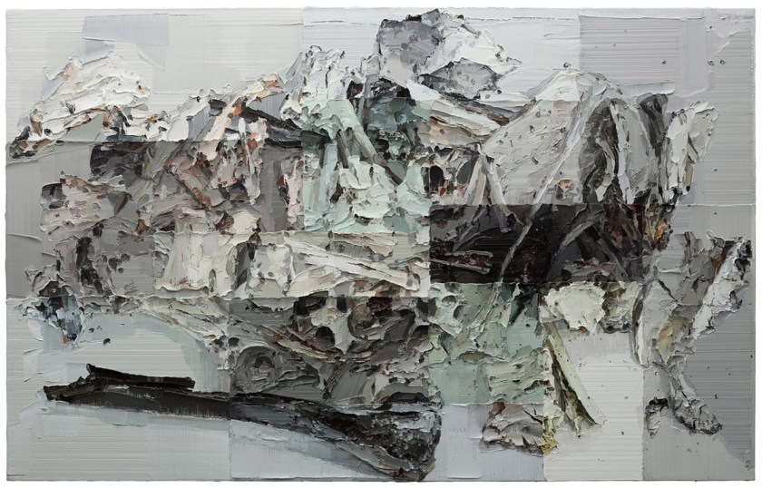 Bone to Ash Oil on Canvas 180x300cm