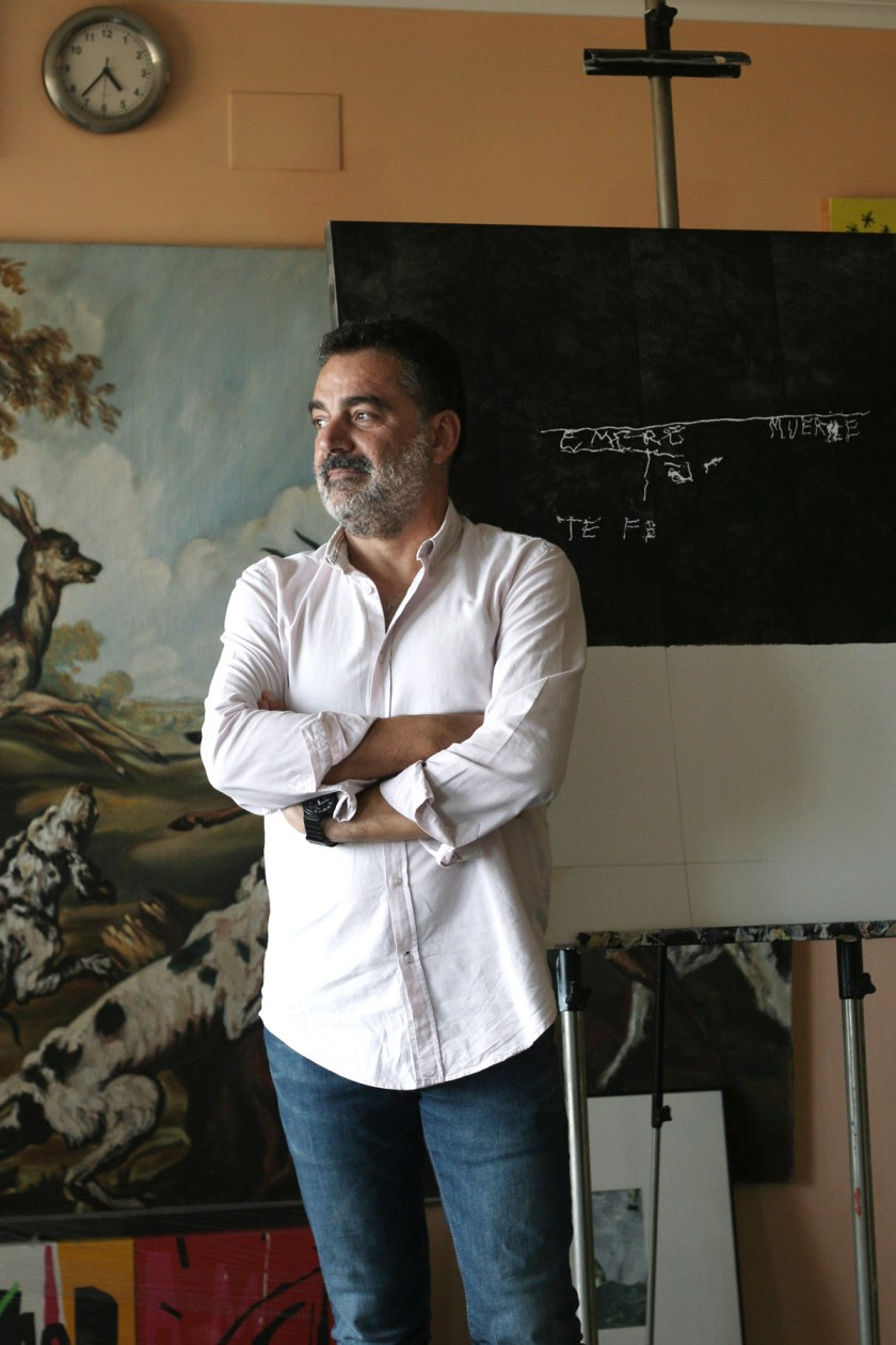 Miguel Ángel Maestre Yago. Foto: Pablo Ruiz