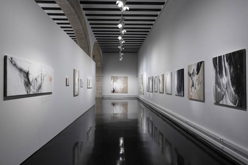 """Vista de la muestra """"La Anguila. Esto es un cuadro no una opinión"""" Centre Cultural La Nau"""