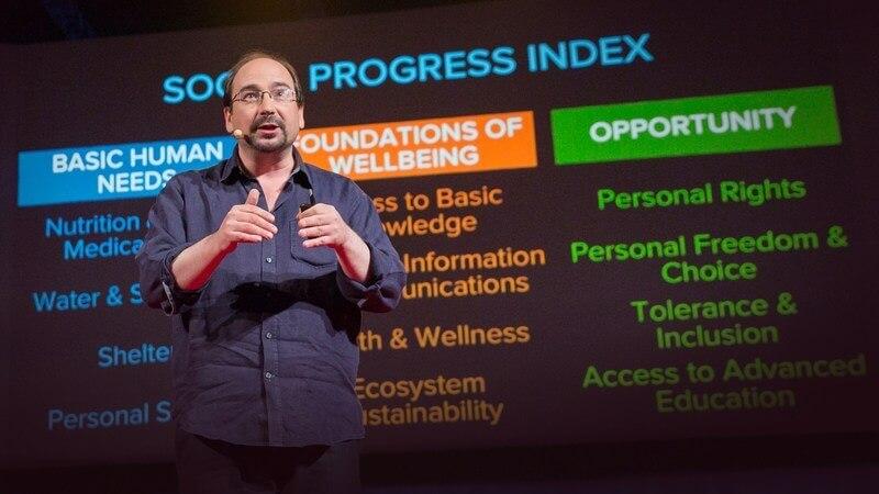 在 2030 年前,我們如何讓全世界變得更美好?Michael Green