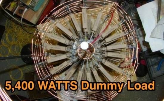 5400 W Dummy Load