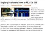 Raspberry Pi as RTL2832 Remote Server