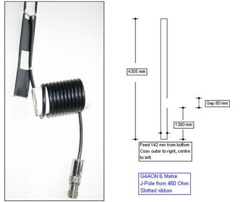 6 m JPole Antenna