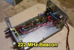 222 MHz Transmitter Beacon