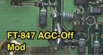 FT-847 AGC-Off Mod