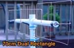 UHF Dual Rectangle Antenna