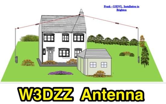 W3DZZ Multi-band Antenna 80-40-20-15-10m