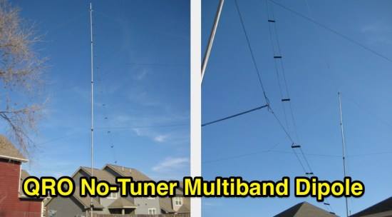 QRO No-Tuner Multiband Dipole