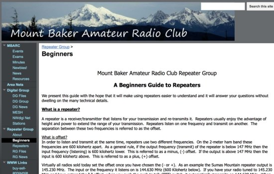 A Beginners Guide to Repeaters