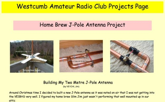 Home Brew J-Pole Antenna Project