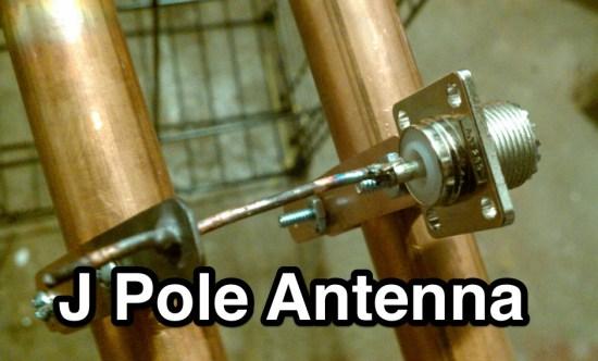 The Copper J pole Antenna