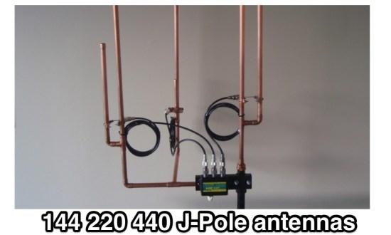 3 band J-Pole Antenna