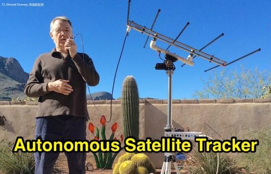 Autonomous Satellite Tracker