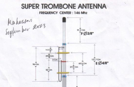 Super Trombone Antenna