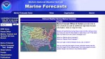 NAVTEX by National Weather Service Marine Forecasts
