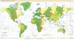 Time Zone-World Map