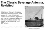 The Classic Beverage Antenna Revisited