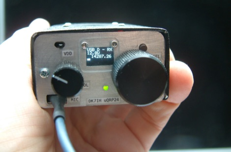 Micro24 Cigarette Pack SSB QRP Transceiver for 20m