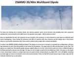 ZS6KMD 20-40m Multiband Dipole