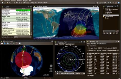 JSatTrak - Satellite tracking program