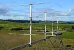 A stacked Yagi array for 2 meter