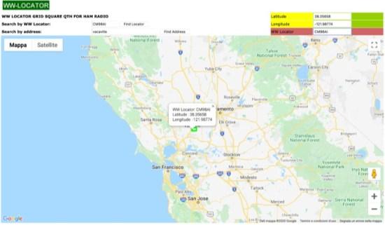 WW Locator with Google Maps