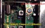 Icom 706MkIIG Frequency Calibration
