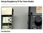Setup Raspberry Pi for Ham-Radio