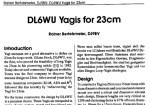 DL6WU Yagi Antennas for 1200 MHz