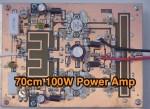 432 MHz 100W RF Power Amplifier