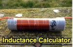 Loaded Quarter Wave Antenna Inductance Calculator