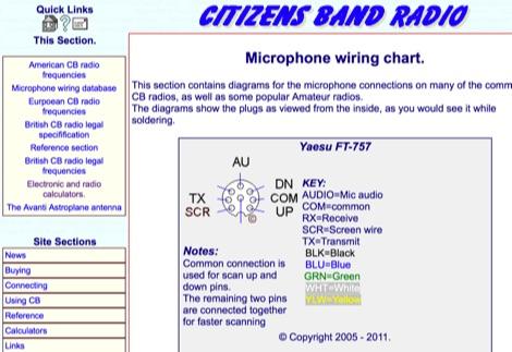 5 Mic Wiring Resources You Need To Bookmark yaesu 8 pin mic ... Xtal Microphone Wiring Diagram on