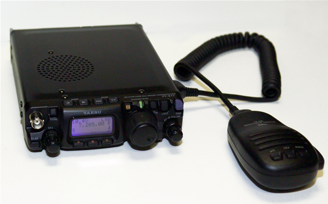Yaesu FT-817, probably the coolest amateur band radio ever made.
