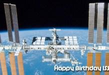 International Space Station Birthday